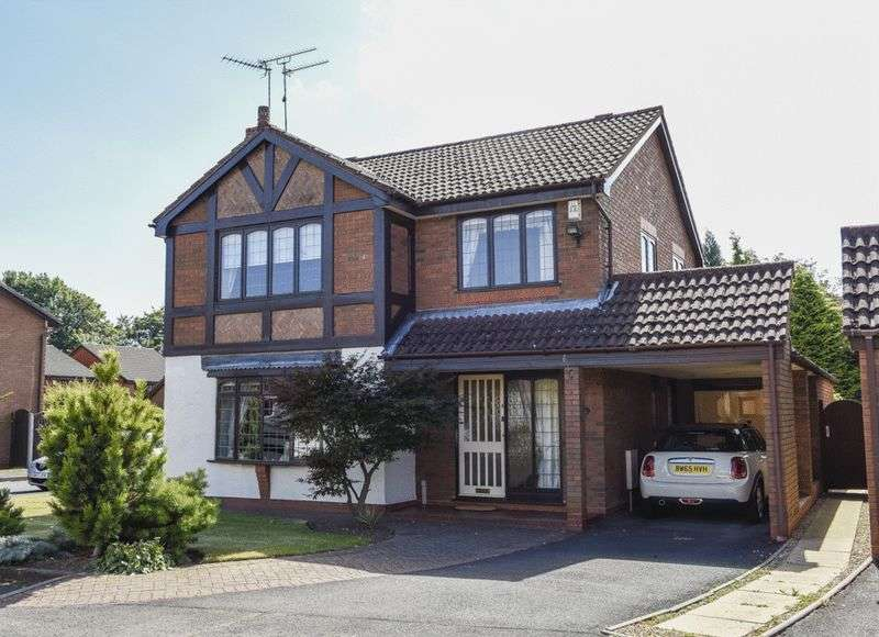 4 Bedrooms Detached House for sale in Millers Green Drive, Wall Heath