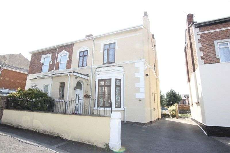 4 Bedrooms Semi Detached House for sale in Elm Grove, Tranmere, Wirral