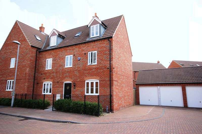 5 Bedrooms Semi Detached House for sale in Ashmead Road, Bedford