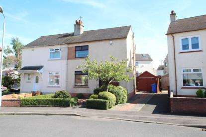 2 Bedrooms Semi Detached House for sale in Cheviot Place, Kilmarnock