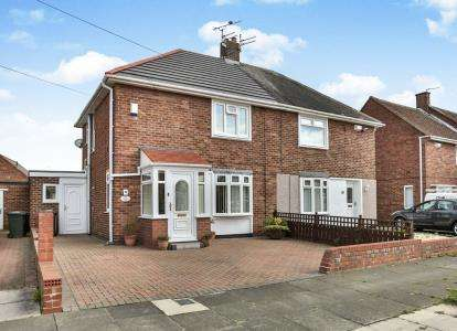 2 Bedrooms Semi Detached House for sale in Ennerdale Road, North Shields, Tyne and Wear, NE30