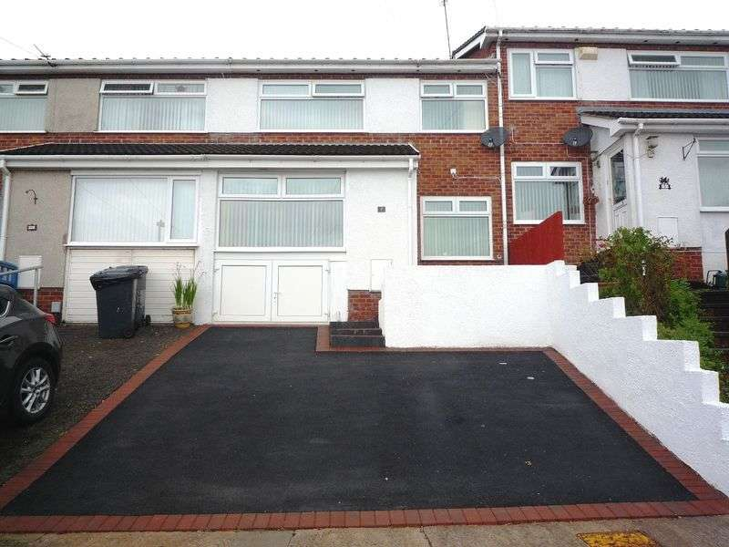 3 Bedrooms Terraced House for sale in Cotswold Rise, Barry