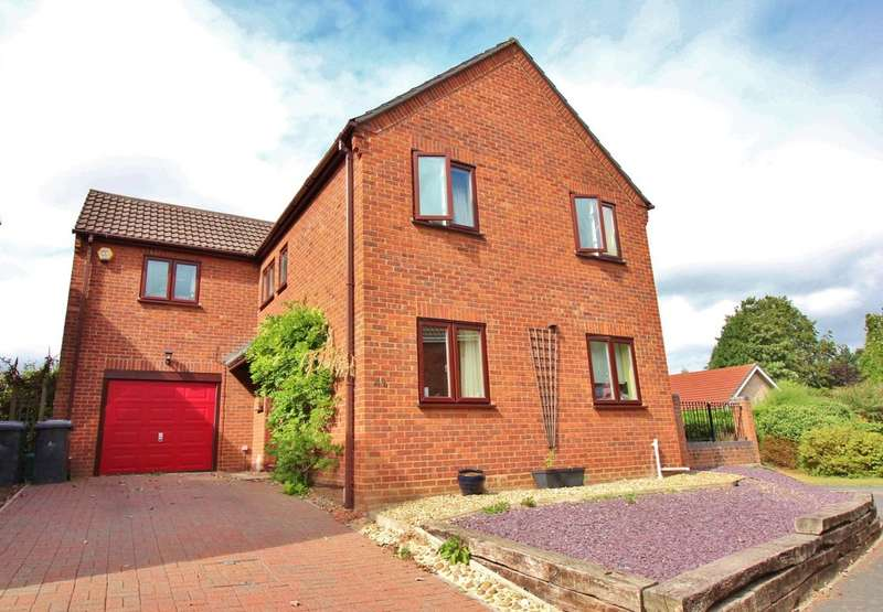 4 Bedrooms Detached House for sale in Rostwold Way, Norwich