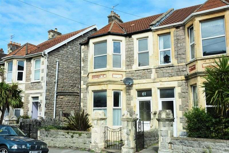 3 Bedrooms Terraced House for sale in Clifton Road, Weston-Super-Mare