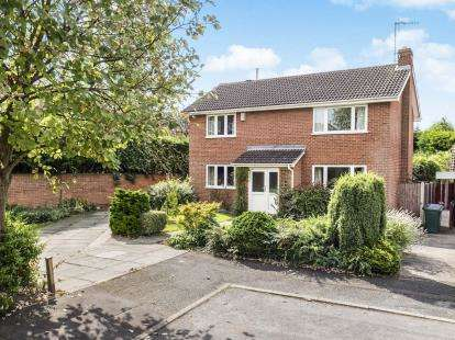 4 Bedrooms Detached House for sale in Ralf Close, West Bridgford, Nottingham, Nottinghamshire