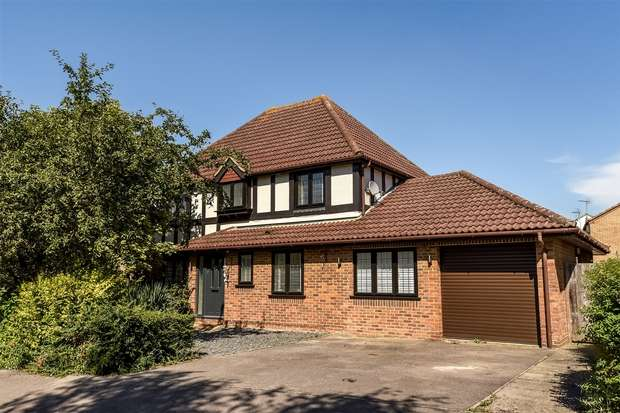 4 Bedrooms Detached House for sale in Munnings Drive, College Town, SANDHURST, Berkshire