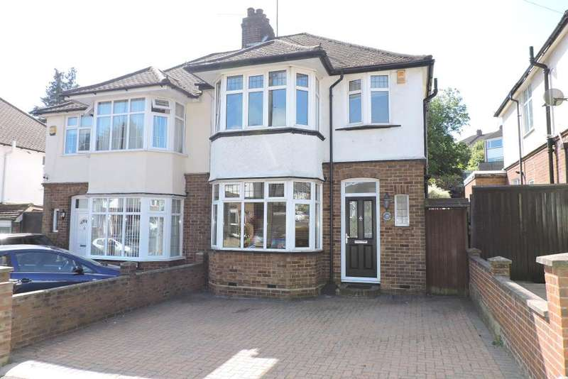 3 Bedrooms Semi Detached House for sale in Meyrick Avenue, Luton, Bedfordshire, LU1 5JN