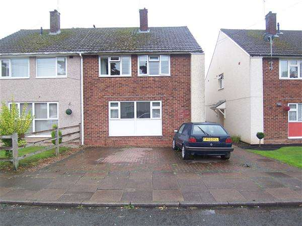 4 Bedrooms Semi Detached House for sale in Dunhill Avenue, Tile Hill, Coventry