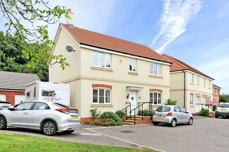 4 Bedrooms Detached House for sale in Medlar Close, Cribbs Causeway
