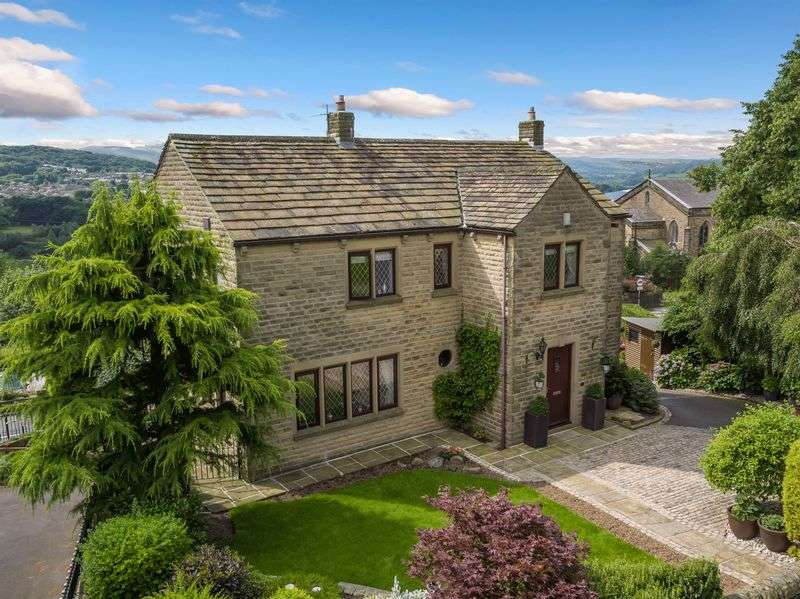 4 Bedrooms Detached House for sale in Stocks Brow, Glossop