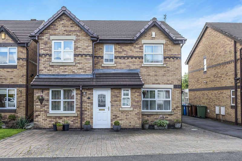 4 Bedrooms Detached House for sale in Mansart Close, Ashton-In-Makerfield, Wigan, WN4