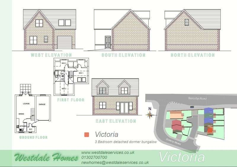 3 Bedrooms Detached Bungalow for sale in Plot 4, Galway Mews, Doncaster