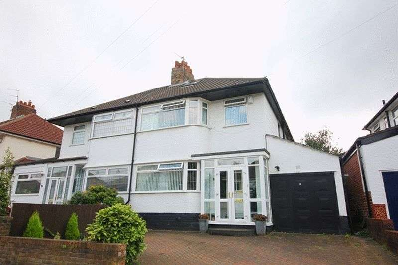3 Bedrooms Semi Detached House for sale in North Barcombe Road, Childwall, Liverpool, L16