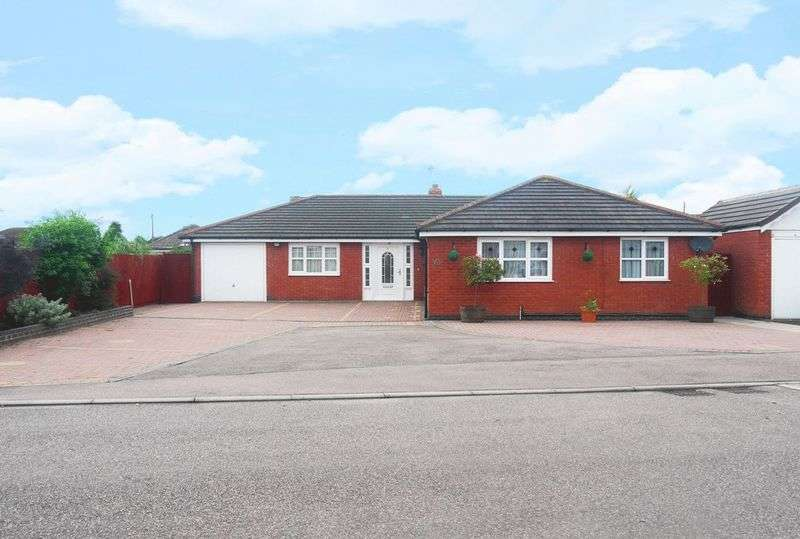 5 Bedrooms Detached Bungalow for sale in Shenton Close, Thurmaston, Leicestershire