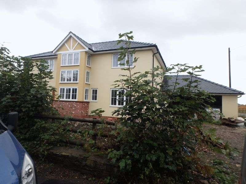 4 Bedrooms Detached House for sale in New House adj. Moorlands Court, Bishton