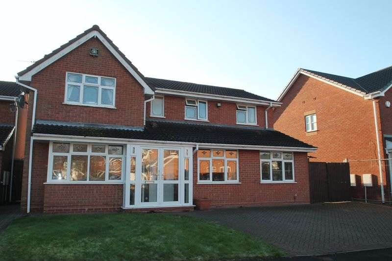 4 Bedrooms Detached House for sale in 4 Bedroom House,Birchwood Close, Wolverhampton
