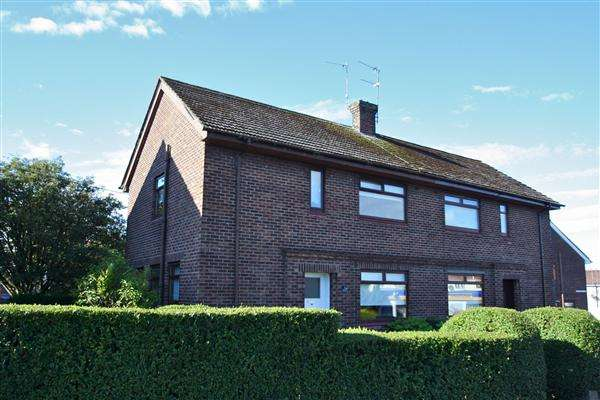 3 Bedrooms Semi Detached House for sale in Cleeves Avenue, Dalry, Dalry