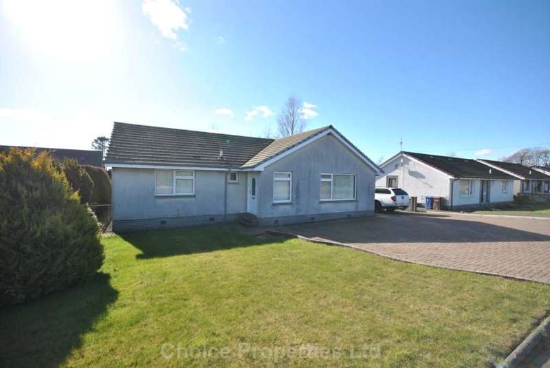 4 Bedrooms Detached Bungalow for sale in Barrmill Road, Burnhouse, KA15 1LG