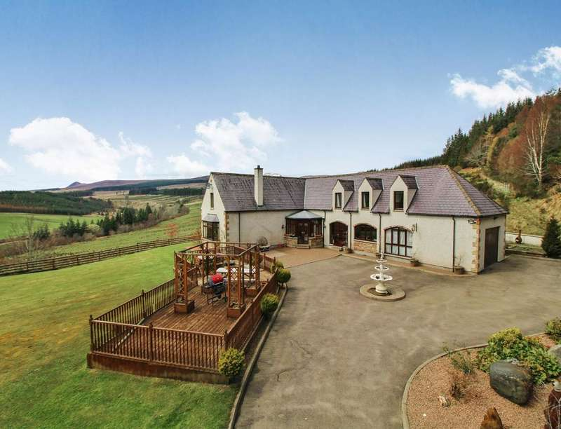 5 Bedrooms Detached House for sale in Milton Lodge Stables, Evanton, Dingwall, IV16