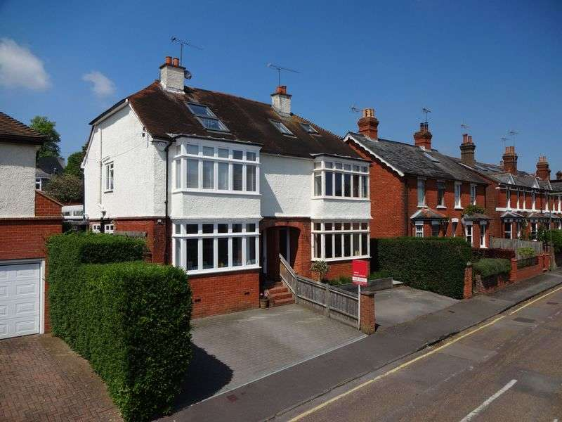 5 Bedrooms Semi Detached House for sale in Thorold Road, Farnham