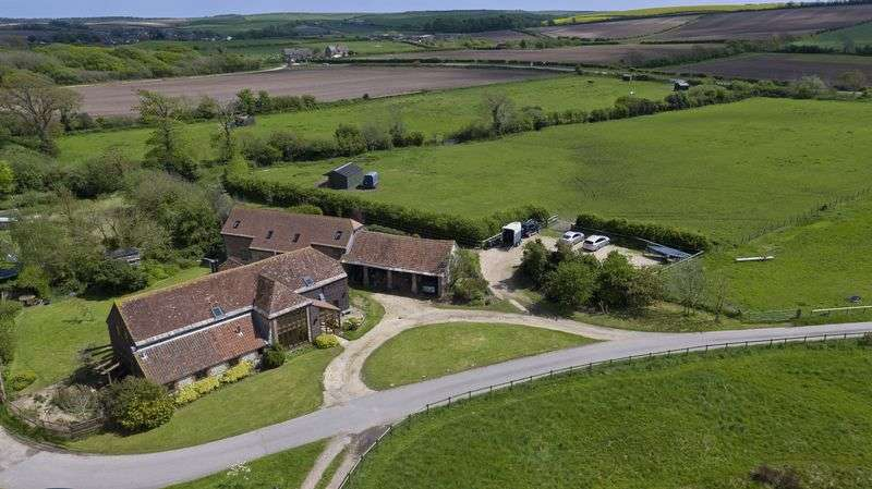 4 Bedrooms Detached House for sale in Grade II Listed Barn with 2 Cottages plus outbuildings and paddock