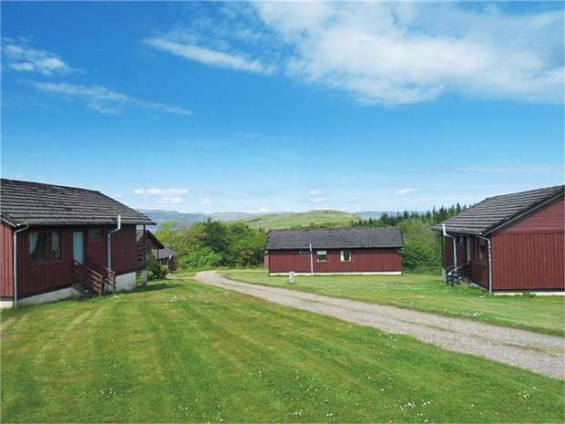2 Bedrooms Chalet House for sale in Meldalloch Lodges, Kilfinan, TIGHNABRUAICH, Argyll and Bute