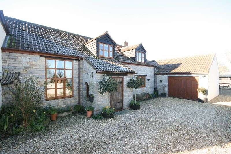 5 Bedrooms Detached House for sale in 4/5 bedroom detached property in Catcott set in approx. one acre with stables