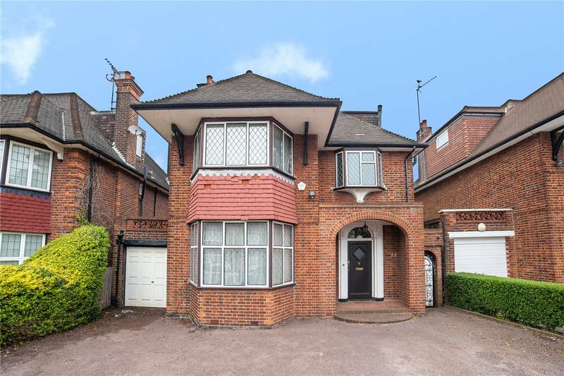 4 Bedrooms Detached House for sale in Manor Hall Avenue, Hendon, London, NW4