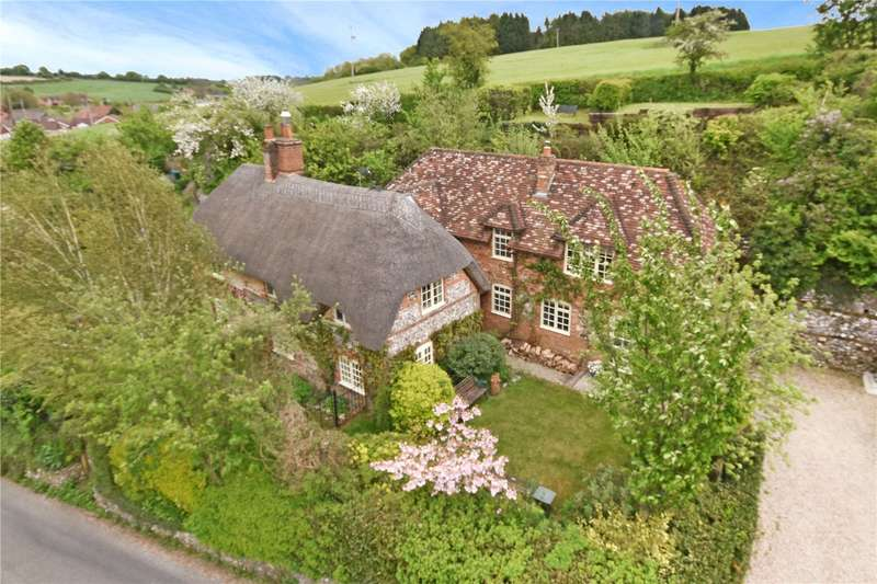 4 Bedrooms Detached House for sale in Brewhouse Hill, Froxfield, Marlborough, Wiltshire, SN8