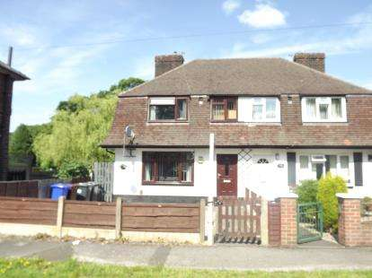 3 Bedrooms Semi Detached House for sale in Sale Road, Manchester, Greater Manchester