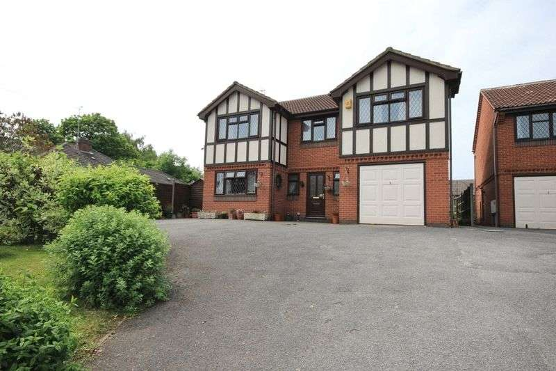 4 Bedrooms Detached House for sale in CHADDESDEN LANE, CHADDESDEN