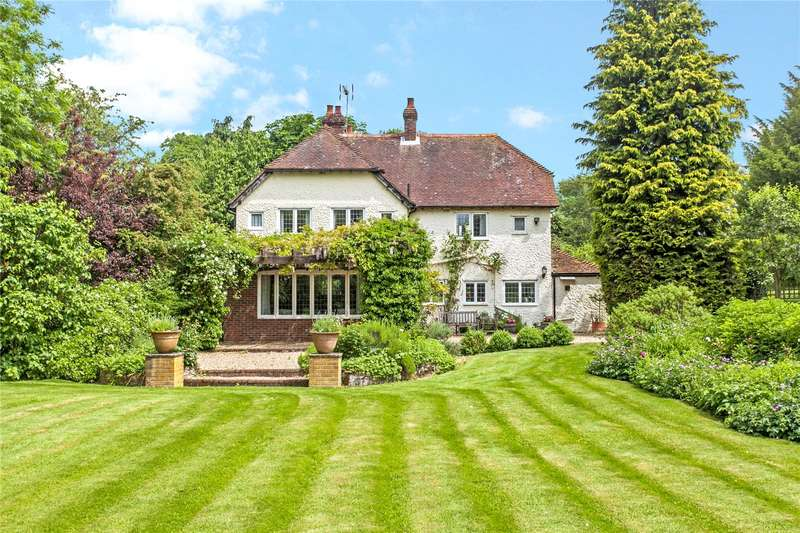 4 Bedrooms Detached House for sale in North Street, Ropley, Alresford, Hampshire, SO24