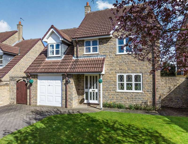 4 Bedrooms Detached House for sale in Pear Tree Close, Woodsetts, Worksop, S81