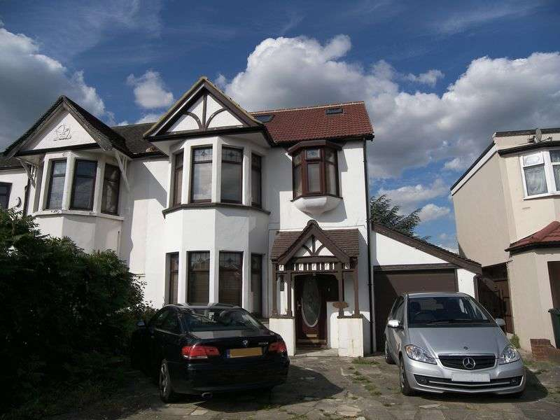 5 Bedrooms Semi Detached House for sale in WOODFORD AVENUE GANTS HILL IG2