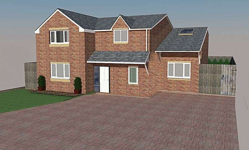 4 Bedrooms Detached House for sale in School Lane, Childer Thornton