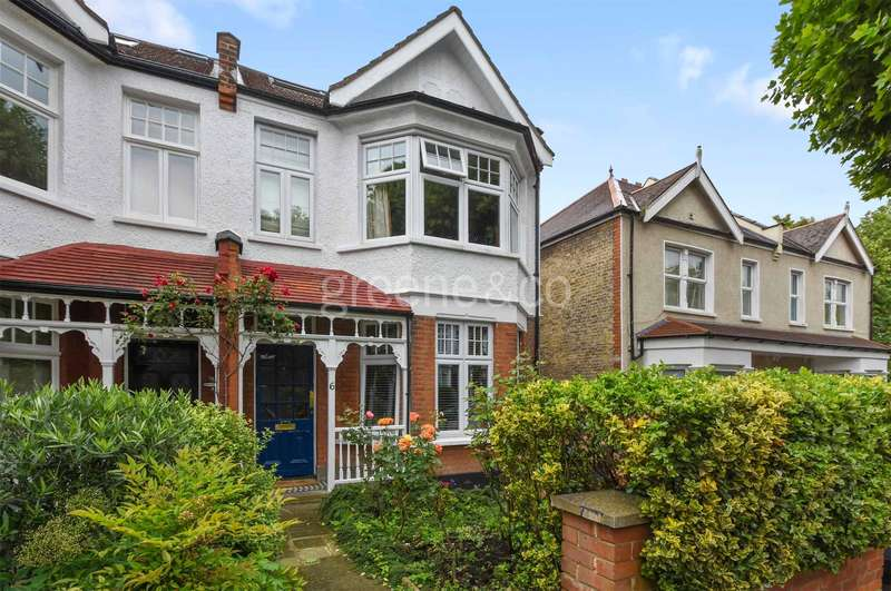 4 Bedrooms Semi Detached House for sale in Redston Road, Crouch End, London, N8