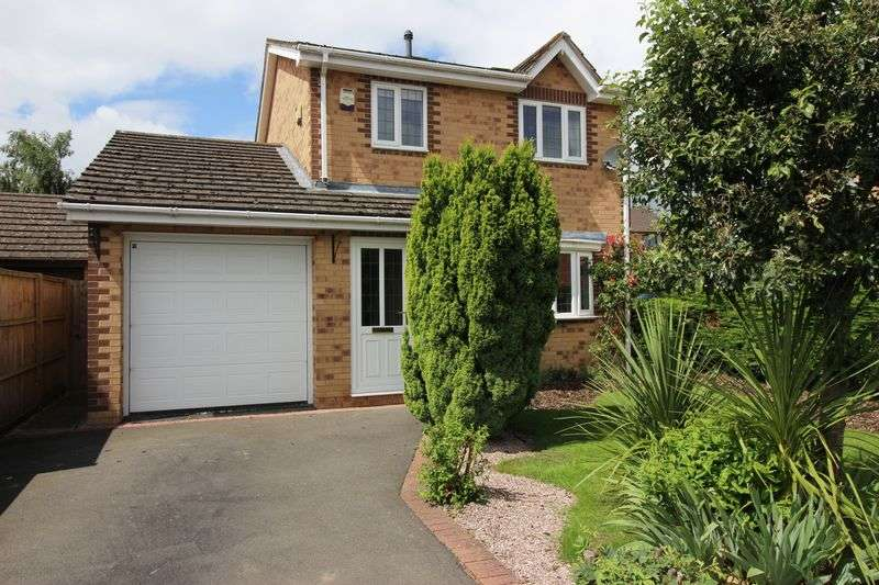 3 Bedrooms Detached House for sale in Coldridge Drive, Shrewsbury