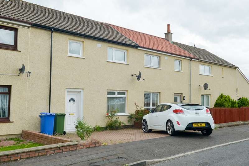 3 Bedrooms Terraced House for sale in Beechwood Road, Mauchline, South Ayrshire, KA5