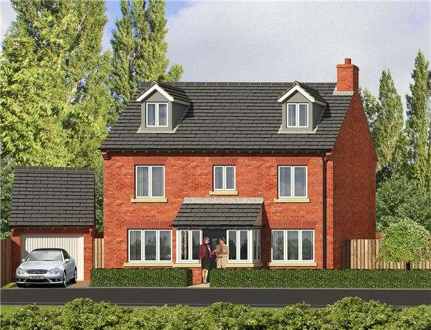 5 Bedrooms Detached House for sale in Plot 7, Orchard House, Robinswood Hill Farm, Reservoir Road, GLOUCESTER, GL4 6SX