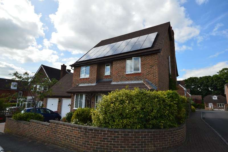 4 Bedrooms Detached House for sale in Wolversdene Road, Andover, SP10