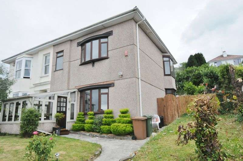 4 Bedrooms Semi Detached House for sale in Penrose Villas, Plymouth. Spacious 4 bedroom semi detached family home.