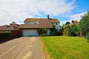 4 Bedrooms Detached House for sale in Archers Court Road, Whitfield, Dover, Kent