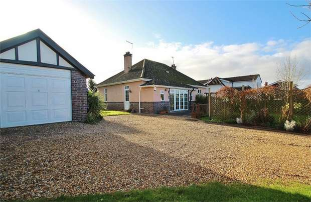 3 Bedrooms Detached Bungalow for sale in Lodway, Easton-in-Gordano, North Somerset