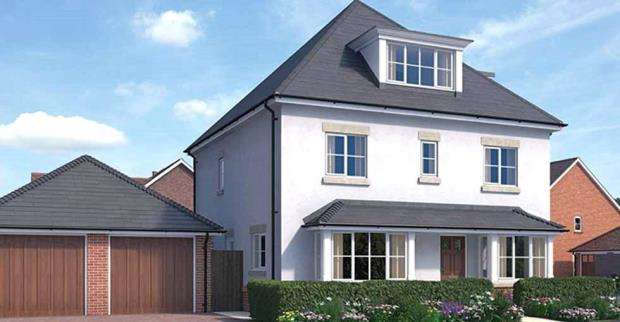 5 Bedrooms Detached House for sale in Warren House Road, Wokingham, Berkshire, RG40 5QA