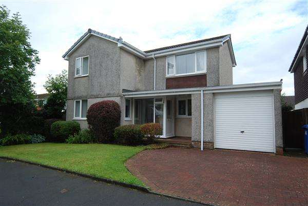 4 Bedrooms Detached House for sale in Brodick Avenue, Kilwinning