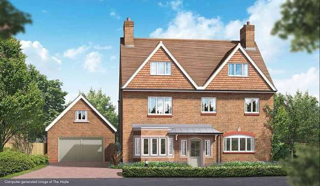 5 Bedrooms Detached House for sale in The Pines At Brackenwood, Kings Drive, Midhurst, GU29