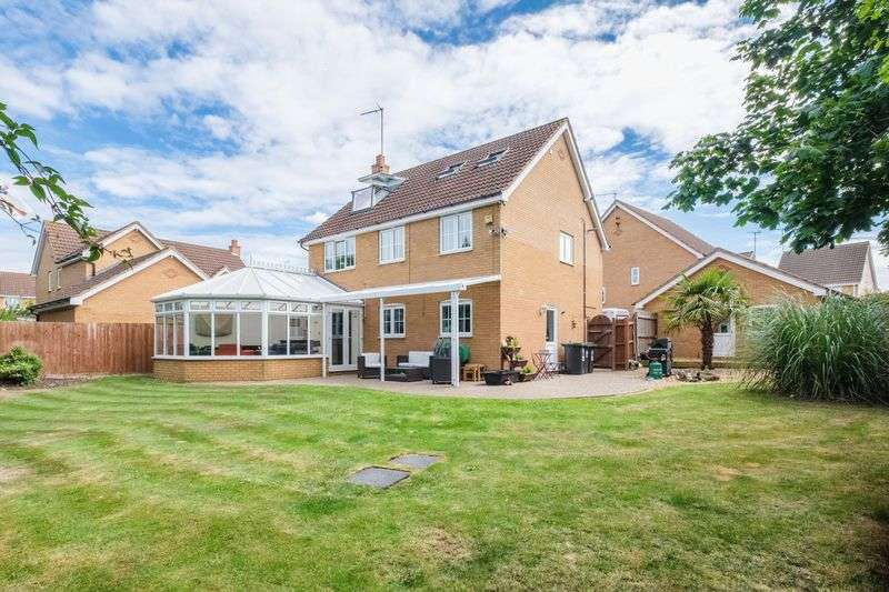 5 Bedrooms Detached House for sale in Larkin Gardens, Higham Ferrers