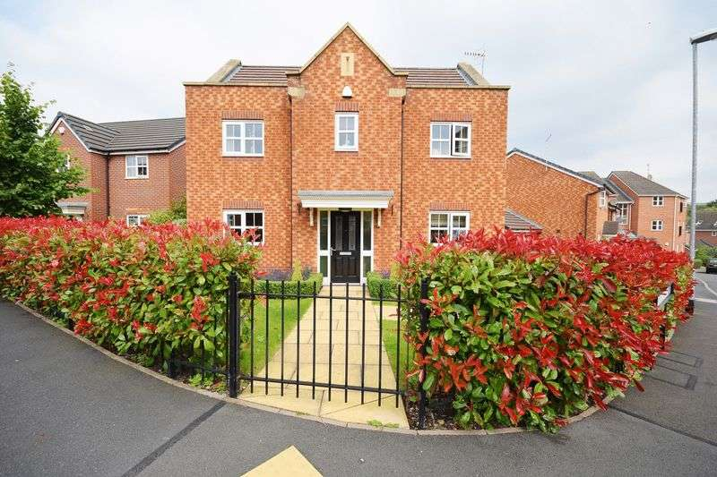 4 Bedrooms Detached House for sale in Mansfield Grove, Norton Heights