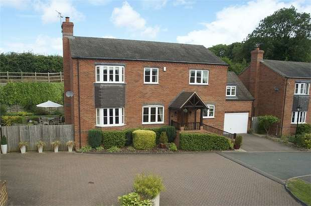 4 Bedrooms Detached House for sale in Howcombe Gardens, Napton, Southam, Warwickshire