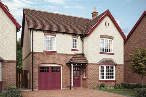 4 Bedrooms Detached House for sale in Church Fields, Weddington Road, Nuneaton, Warwickshire
